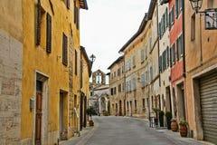 ` Orcia, Siena di San Quirico d Immagine Stock Libera da Diritti