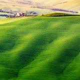 ` Orcia, Toskana, Italien Val d Lizenzfreie Stockfotografie