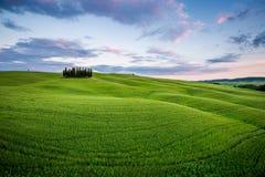 ` Orcia, Toskana, Italien Val d Stockfotografie