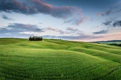 ` Orcia, Toskana, Italien Val d Lizenzfreies Stockfoto
