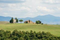 ` Orcia Val d in Toskana, Italien Lizenzfreies Stockbild
