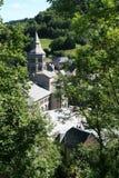Orcival - Frankrike Arkivbild