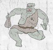 Orco ribelle royalty illustrazione gratis