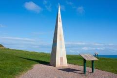 Orcombe Point Devon Stock Image