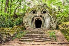 Orcus ogre statue in Bomarzo gardens - Lazio - Italy travel Royalty Free Stock Photos