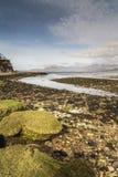 Ord Beach on the Isle of Skye . Stock Photos