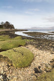 Ord Beach on the Isle of Skye . Stock Images
