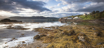 Ord Beach on the Isle of Skye. Ord  village and beach on the Isle of Skye in Scotland Stock Photography