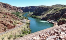 Ord flod - västra Australien Royaltyfri Foto