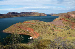 Ord River Dam, Lake Argyle Royalty Free Stock Images