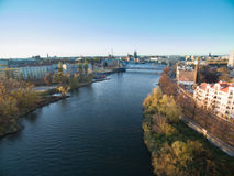 Orda River In Poland Stock Photo