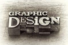 Ordabstrakt begrepp för grafisk design i metalltyp royaltyfri foto