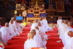 Ordaining Buddha Royalty Free Stock Images