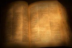 ordbok Royaltyfri Fotografi