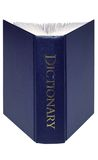 ordbok isolerat öppet Arkivbilder
