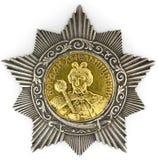 Orde van de 2de Klasse van Bogdan Khmelnitsky Stock Foto
