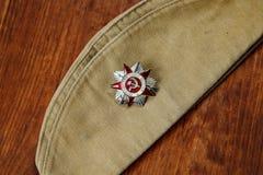 Orde van de Patriottische Oorlog in St op de foerage GLB van een Militair royalty-vrije stock afbeeldingen