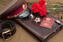 Orde van de patriottische oorlogs 1st klasse Stock Fotografie