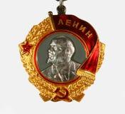 A ordem de Lenin Fotografia de Stock