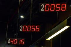 Ordem dos indicadores de Digitas Fotos de Stock Royalty Free