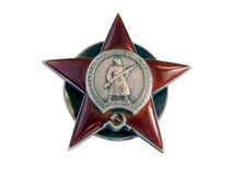 Orden de la estrella roja fotos de archivo