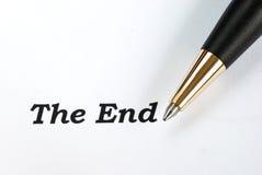 Orden slutet Arkivbild