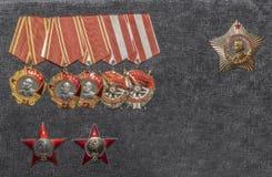 Orden van de Sovjetunie Stock Fotografie