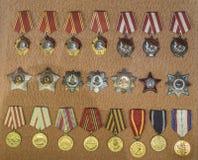 Orden van de Sovjetunie Royalty-vrije Stock Afbeelding
