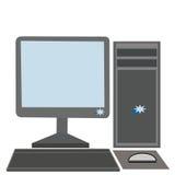 Ordenador Foto de archivo libre de regalías