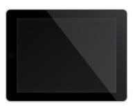 Ordenador de la PC de la tableta aislado en el fondo blanco Imagenes de archivo