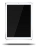 Ordenador de la PC de la tableta en el fondo blanco Imagen de archivo