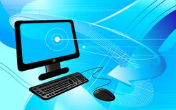 Ordenador de la tecnología ilustración del vector