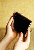 Ordenador del bolsillo Fotos de archivo libres de regalías