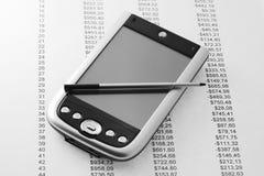Ordenador del bolsillo Imagen de archivo libre de regalías