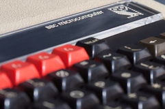 Ordenador del micr3ofono de la BBC de la bellota Fotos de archivo libres de regalías
