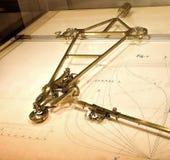 ordenador del siglo XIX de la construcción naval Foto de archivo libre de regalías