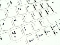 Ordenador del teclado Imagen de archivo