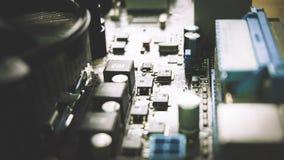 Ordenador Mainboard Foto de archivo