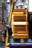 Ordenador, placa de circuito Fotografía de archivo