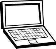 Ordenador portátil stock de ilustración