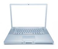 Ordenador portátil aislado Imágenes de archivo libres de regalías