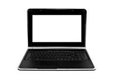 Ordenador portátil aislado en blanco Foto de archivo libre de regalías