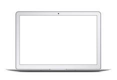 Ordenador portátil, cuaderno o ultrabook fino moderno Ilustración del vector Fotografía de archivo