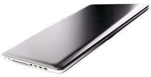 Ordenador portátil gris cerrado Foto de archivo libre de regalías
