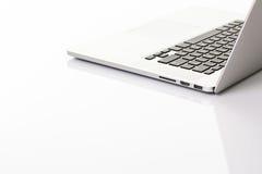 Ordenador portátil moderno foto de archivo libre de regalías