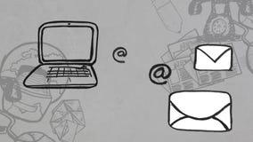 Ordenador portátil y mensajería