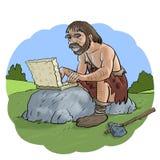Ordenador prehistórico Fotografía de archivo libre de regalías
