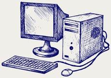 Ordenador viejo libre illustration