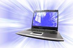 Ordenadores e Internet Imagen de archivo libre de regalías
