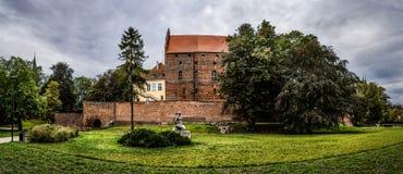 Ordensburg castle in Olsztyn, Poland Royalty Free Stock Image